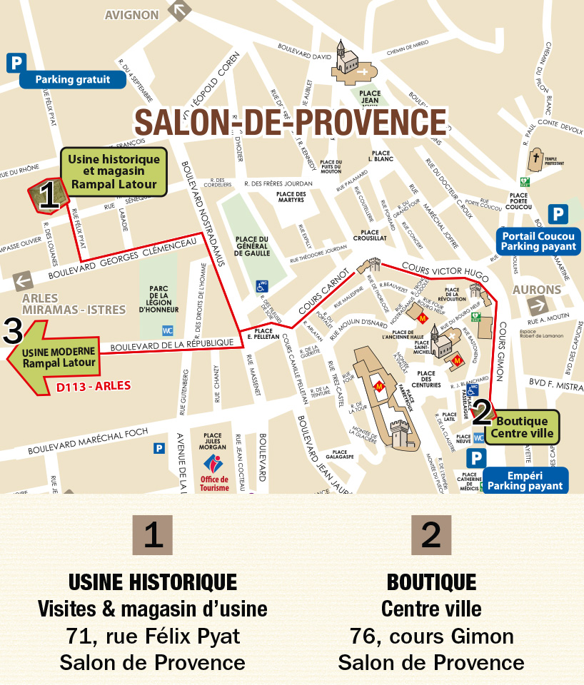 plan de salon de provence